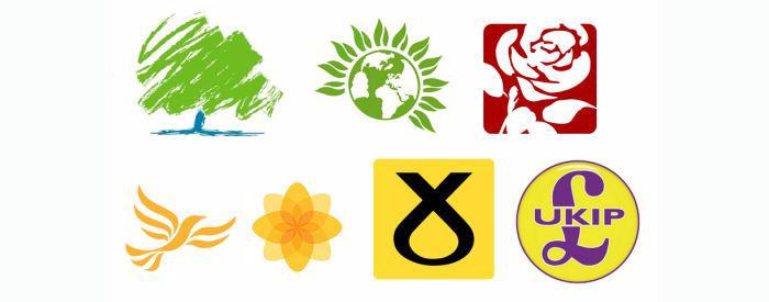 GB Political Party Logos 2017