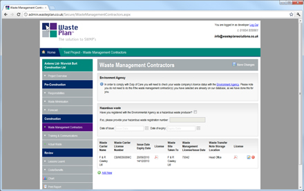 WastePlan from Waste Plan Solutions Ltd