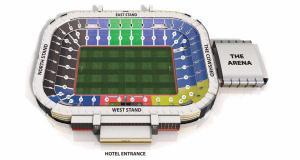 MK Dons Stadium Plan